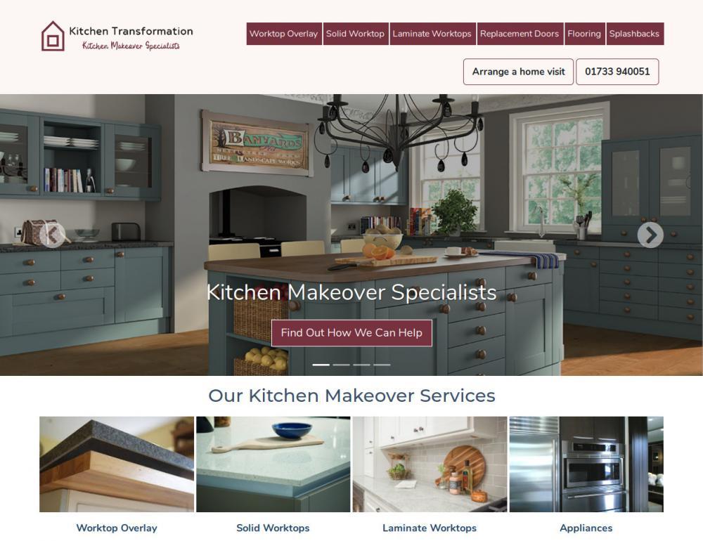 Kitchen Transformation WordPress Screenshot